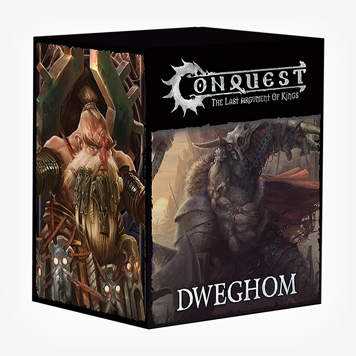 Conquest Dweghom Army Card Sets PBW8007