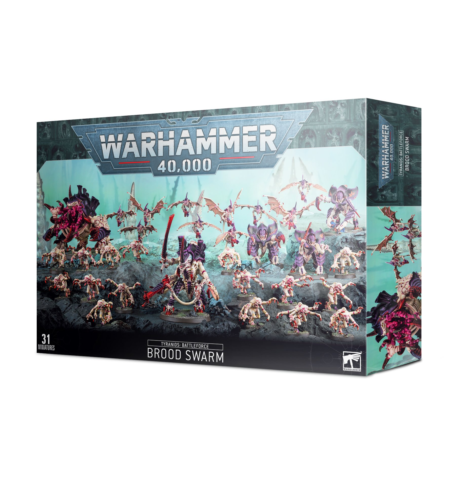 Tyranids Battleforce Brood Swarm Ontabletop Store Custom text is not available on this product. tyranids battleforce brood swarm